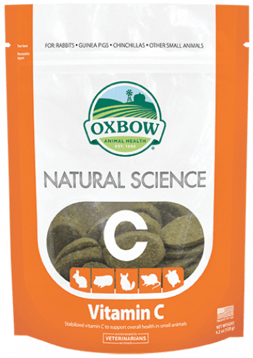 Oxbow Natural Science Vitamin C Supplement | guineapigden.com
